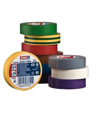 Nastro adesivo isolante 10mtx15mm nero professionale 53988-00000-00 4042448886002 53988-00000-00
