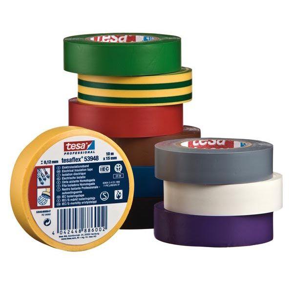 Nastro adesivo isolante 10mtx15mm bianco professionale 53988-00060-00 4042448435057 53988-00060-00 by Tesa