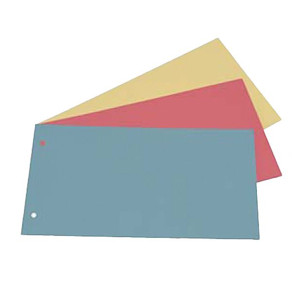 200 separatori manilla 200gr 125x230mm rosso cdg CG0800MLXXXAL02 8001182012630