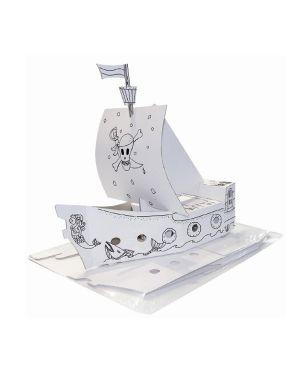 Modello in cartone nave pirata joypac 48x18x50cm JP000401.2 4033657952268 JP000401.2