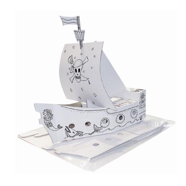 Modello in cartone nave pirata joypac 48x18x50cm JP000401.2 4033657968108 JP000401.2 by Joypac