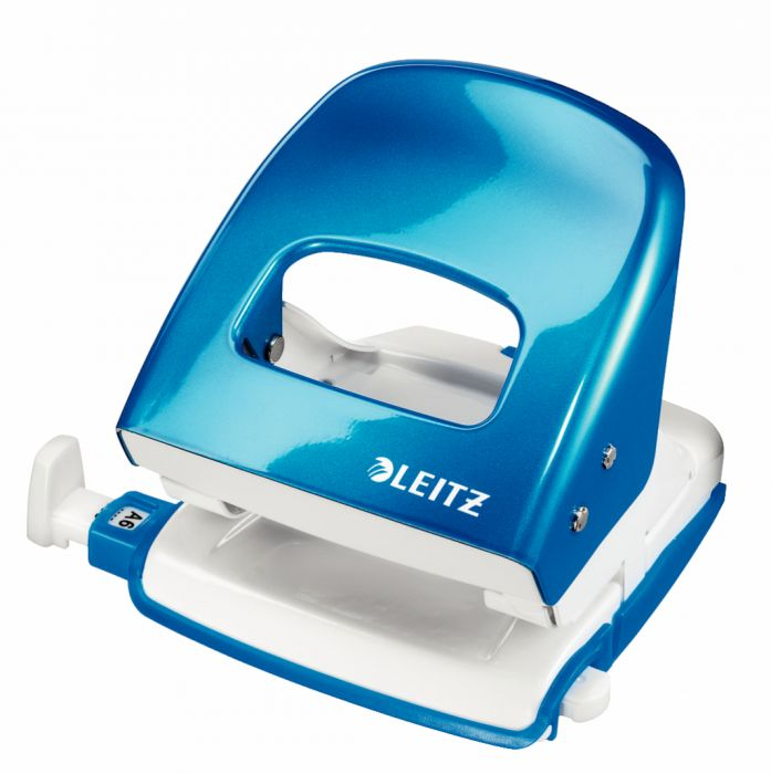 Perforatore 2 fori 5008 wow blu metal max 30fg leitz 50082136 4002432392865 50082136-1 by Leitz