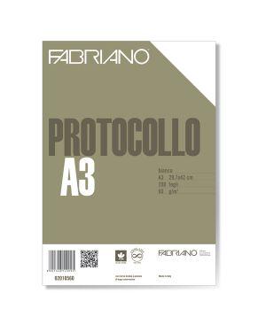 Protocollo a4 bianco 200fg 60gr fabriano 2010560 8001348149095 2010560 by Fabriano