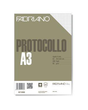 Protocollo a4 4mm 200fg 60gr fabriano 2710560 8001348149132 2710560 by Fabriano