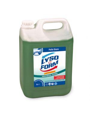 Detergente pavimenti disinfettante lysoform 5 litri freschezza alpina 100887662 7615400189083 100887662