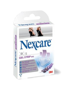 Scatola 4+2 cerotti per vesciche gel strip foot n1406as nexcare 7000054995 5902658097461 7000054995