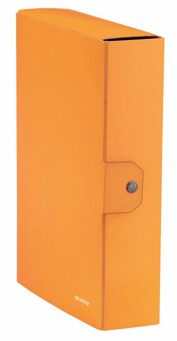Portaprogetti wow d.8 con bottone arancione metallizzato LEITZ 39670044 4002432395699 39670044-1 by Leitz