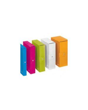 Scatola progetto wow dorso 8cm arancio metal leitz 39670044 4002432534999 39670044-1