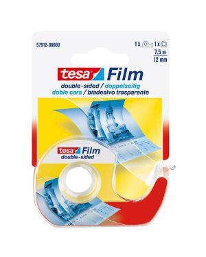 Nastro biadesivo 7,5mtx12mm trasparente in chiocciola tesa 57912-00000-02 4042448899743 57912-00000-02 by Tesa