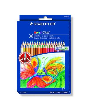 Astuccio 36 matite colorate 144 noris club staedtler 144ND36 4007817143247 144ND36