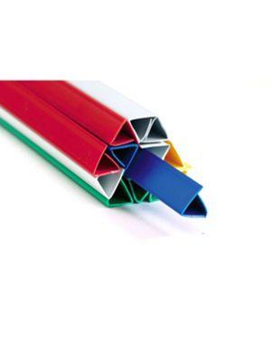 25 dorsi rilegafogli 16mm rosso titanium DOR.RIL 16R 8025133098788 DOR.RIL 16R