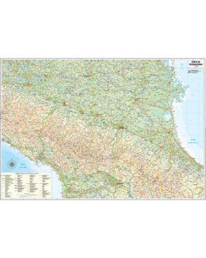 Carta geografica regione emilia romagna 124x85cm magnetica scrivibile EMILIA ROMAGNA 8033229292323 EMILIA ROMAGNA