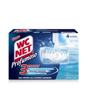 Wc net tavoletta profumoso ocean fresh (4x34gr M74601 8004050001637 M74601
