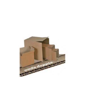 Scatola cartone per imballo avana onda doppia p500xl400xh350mm 143447  143447