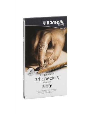 Astuccio metallo assortimento 12 matite rembrant art special schizzo lyra L2051120 4084900460061 L2051120