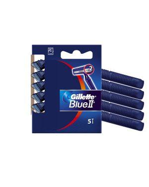 Gillette blue ii standard - kit 5 rasoi usagetta GL001 3014260201753 GL001