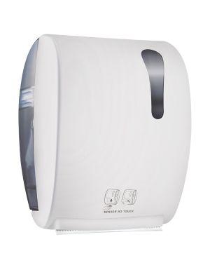 Dispenser asciugamani elettronico 875 kompatto advan bianco soft touch A8752RBI 8020090087004 A8752RBI by Mar Plast
