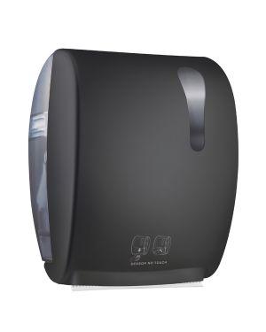 Dispenser asciugamani elettronico 875 kompatto advan nero soft touch A8752RNE 8020090086984 A8752RNE by Mar Plast