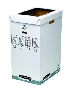 Cestino per riciclo 90lt bankers box system 193201 43859561025 193201