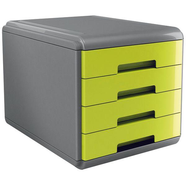 Cassettiera 4 Cassetti Prezzi.Cassettiera 4 Cassetti 45mm Mydesk Verde Arda 18p4pv