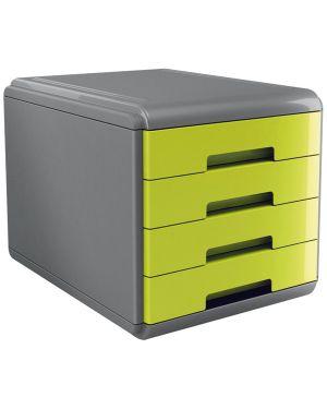 Cassettiera 4 cassetti 45mm mydesk verde arda 18P4PV  18P4PV