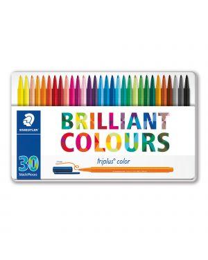 Triplus pennarelli brilliant colours punta 1mm astuccio da 30 colori staedtler 323M30 4007817337141 323M30-1