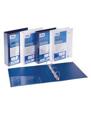 Raccoglitore personalizzabile europa blu 4d h30mm favorit 100460466  100460466-1