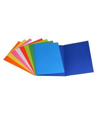 50 cartelline semplici bianco bristol 200gr CG0113BLXXXAJ13  CG0113BLXXXAJ13 by Cart. Garda