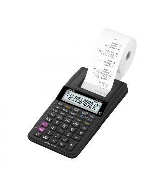 Calcolatrice scrivente 12 cifre hr-8rce nero casio HR-8RCE-BK-W-EC 80344 A HR-8RCE-BK-W-EC