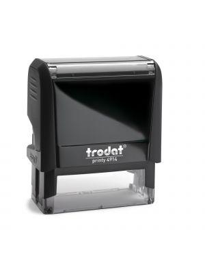 Timbro original printy 4.0 4914 64x26mm 7righe autoinch. personalizzabile trodat 47586 92399528302 47586