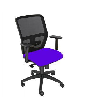 Seduta operativa ergonomica kemper a blu c - bracc.reg KMA/EB 8050043748232 KMA/EB by Unisit