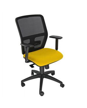 Seduta operativa ergonomica kemper a arancio c - bracc.reg KMA/EA 8050043748225 KMA/EA by Unisit