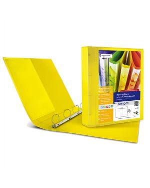 Raccoglitore myto ti 17 a4 4d 22x30cm giallo personalizzabile sei rota 36911746  36911746-1