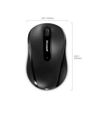 Wireless mobile mouse 4000 graph - Wireless mobile mouse 4000 graph D5D-00133_8039CR6 by Microsoft - Hrd Hardware