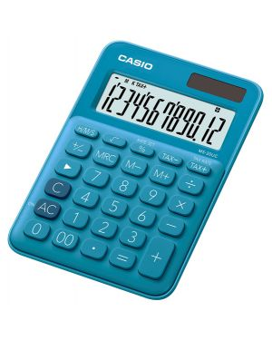 Calcolatrice da tavolo ms-20uc blu casio MS-20UC-BU  MS-20UC-BU