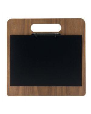 Porta menu' chopping board in legno con anelli 32,7x30cm securit MC-WALA4-CH 8719075285206 MC-WALA4-CH