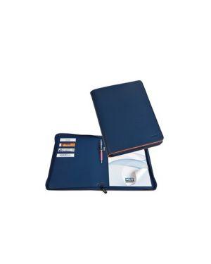 Portablocco city time in mat. sintetico blu dim. 33x25cm niji 61529 8002787615295 61529