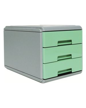 Mini cassettiera keep colour pastel verde arda 19P3PPASV 8003438022868 19P3PPASV by Arda