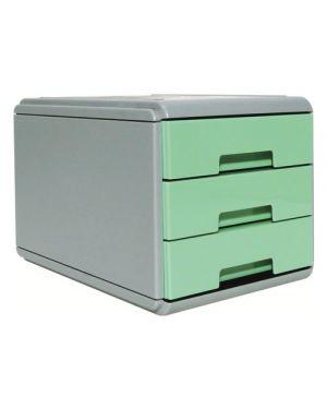 Mini cassettiera keep colour pastel verde arda 19P3PPASV 8003438022868 19P3PPASV by Arda