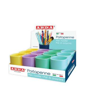 Portapenne keep colour pastel col. ass. arda 4111PASESP 8003438023230 4111PASESP by Arda
