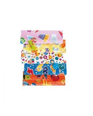 Scatola 25fg carta regalo fantasia play time xl 100x140cm 65gr. bolis 79007901600 8001565916968 79007901600
