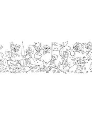 Rotolo creativo adesivo tema fiabe 30x400cm info Q872408 4044355787434 Q872408