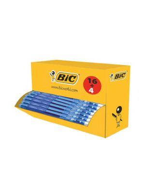 Value pack 16+4 penna sfera scatto gelocity 0,7mm blu bic 964797  964797