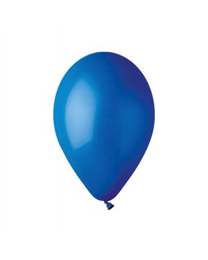 Busta 16 palloncini in lattice Ø30cm blu big party 72777 8020834727777 72777 by No