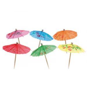 12 picks ombrellini in colori assortiti big party BL4012 8020834040128 BL4012