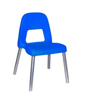Sedia per bambini piuma h35cm blu cwr 09387/04 85996 A 09387/04