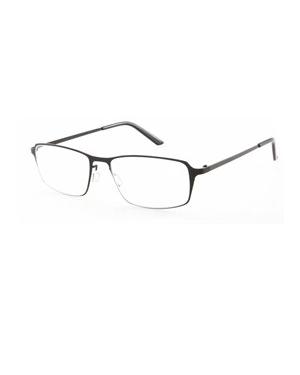Occhiale diottrie +3,00 mod. titan nero in metallo lookkiale R6730nero 8058964803955 R6730nero