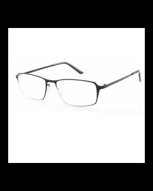 Occhiale diottrie +3,50 mod. titan nero in metallo lookkiale R6735nero 8058964803962 R6735nero