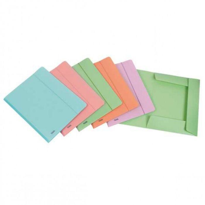Cartella 3l c - elastico ppl pstel verde f.to utile 24x33cm favorit 400116604 8006779022542 400116604 by Favorit