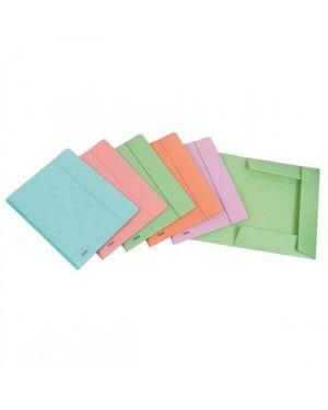 Cartella 3l c - elastico ppl pstel verde f.to utile 24x33cm favorit 400116604 8006779022542 400116604